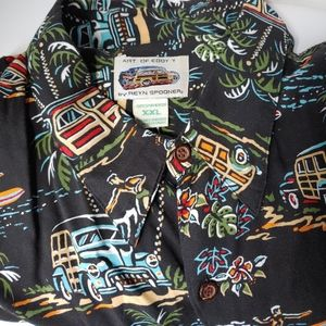 VTG Reyn Spooner Art of Eddy Y Men's  XXL Hawaii-G